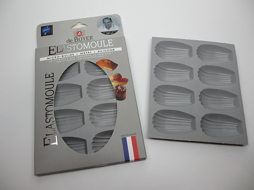 Elastomoule for Madeleines