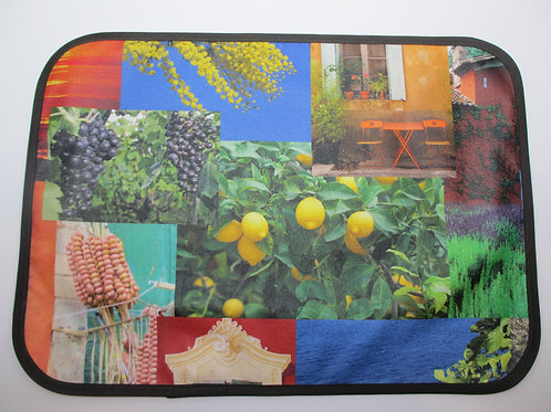 Riviera Exclusive Coated Placemats - Set of 6