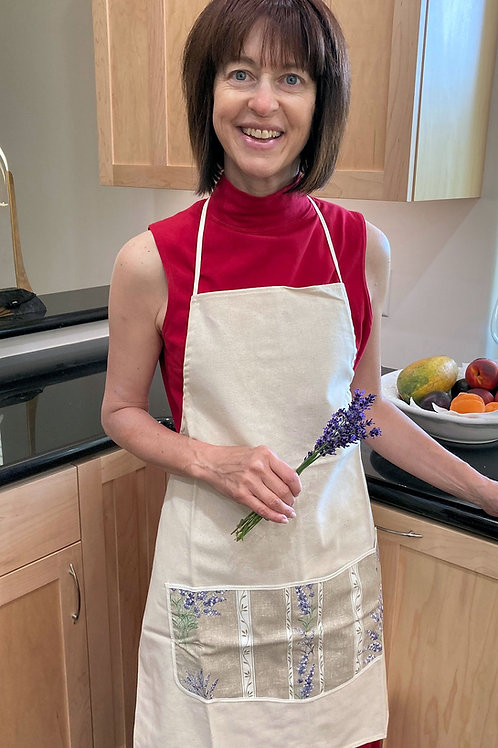 Fully adjustable Apron from Provence, France - Adult Size - PLE