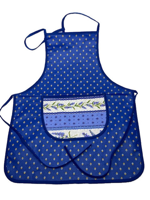 Wipe-off Acrylic-coated Kid's Apron for young chefs and artists (Lavender)