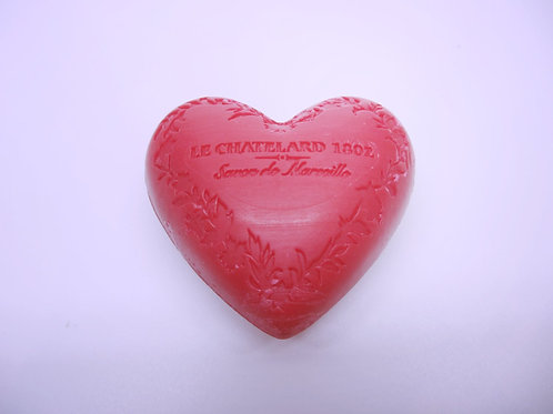 Heart Red Fruit Soap