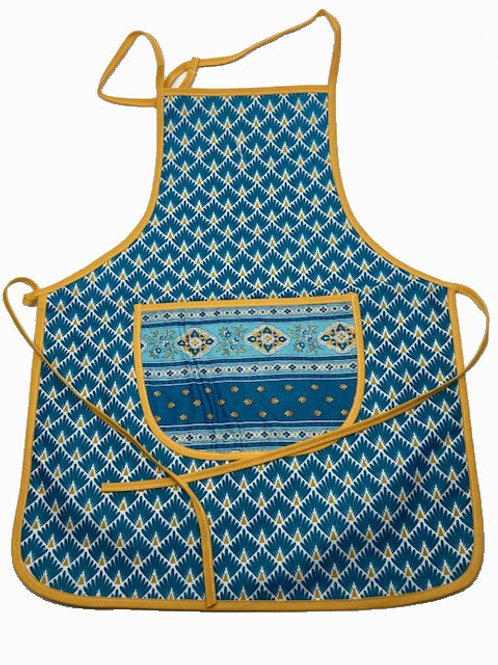 Wipe-off Acrylic-coated Kid's Apron for young chefs and artists (PPBl)