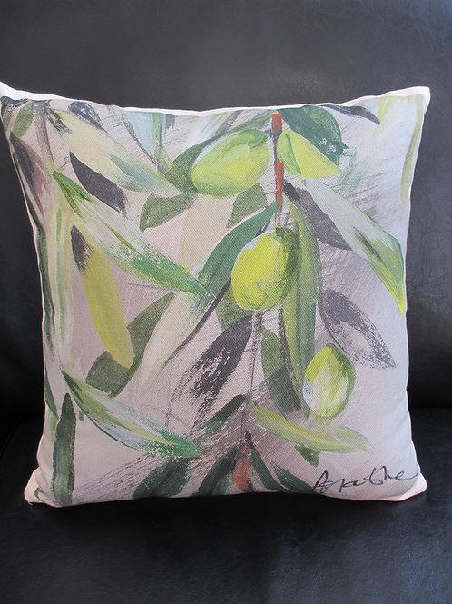 """Pillow """"Olives""""4V"""