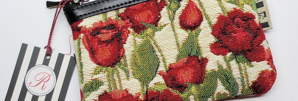 "Royal Tapisserie Purse Case, ""Roses"""