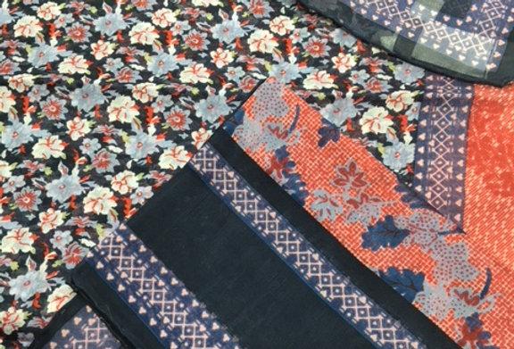 UNGARO made in Italy Silk Designer Scarf – 5015-6
