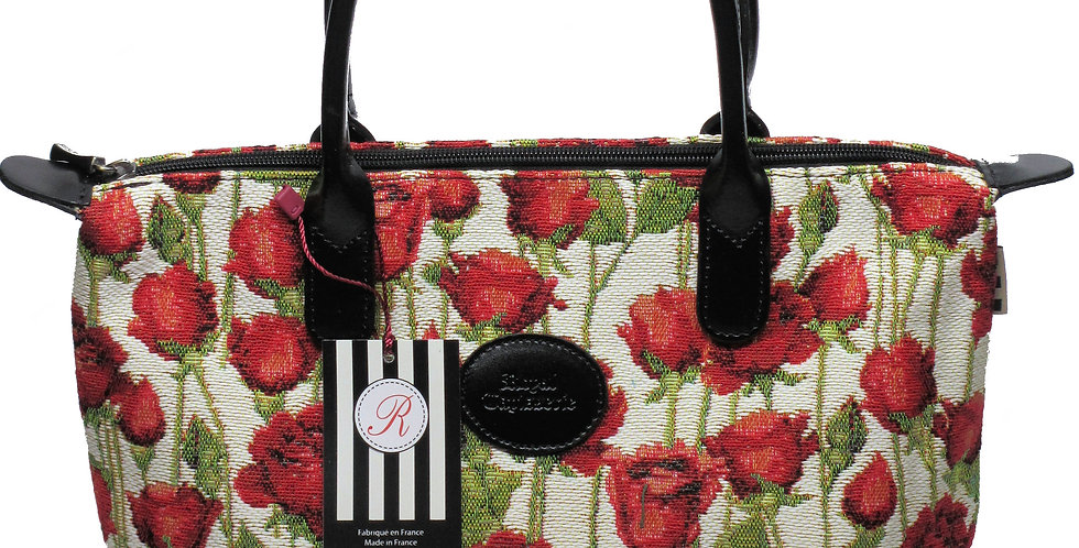 """Royal Tapisserie Hand Purse, """"Roses"""""""