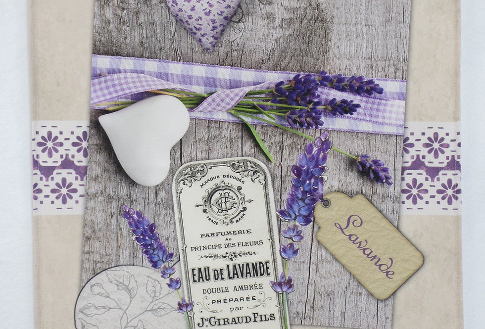 Dish Towel - Lavender / Label