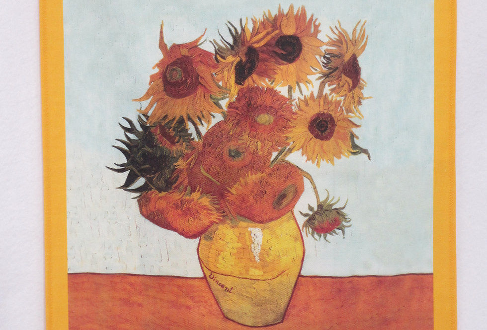 Dish Towel - Van Gogh Exclusive / Sunflowers