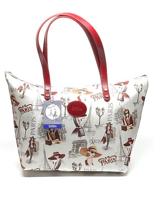 """""""Paris Fashion"""" Shoulder City Bag"""
