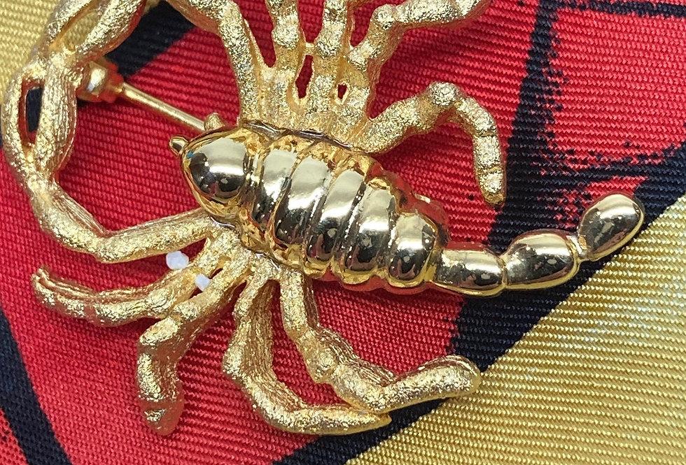 Zodiac Gold Plated Pin