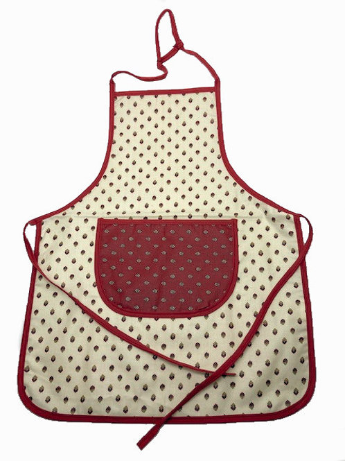 Wipe-off Acrylic-coated Kid's Apron for young chefs and artists (PPBe)