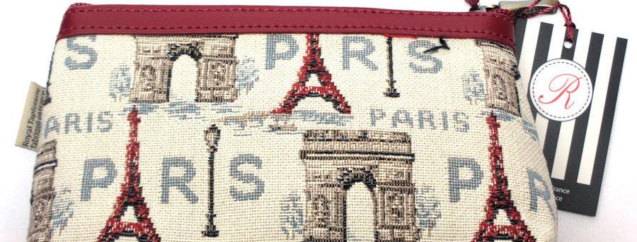 "Royal Tapisserie Make-up Case, ""Eiffel Tower"""