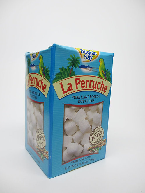 Pure Cane Rough Cut White Sugar Cubes - 1.6 lb