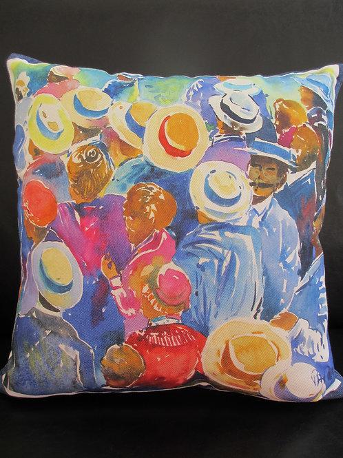 "Pillow ""Marseille Hats"""