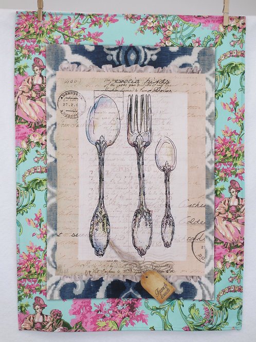 Dish Towel - Silverware / FS