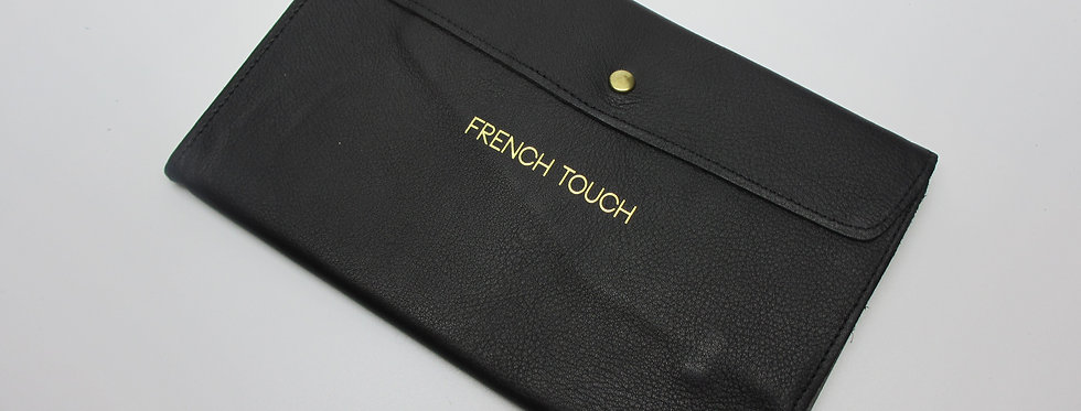 """the Parisian Organizer, FT Black - """"FRENCH TOUCH"""" Collection"""