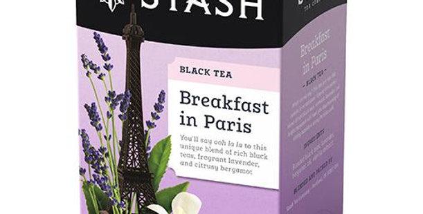 Breakfast in Paris Tea Bags