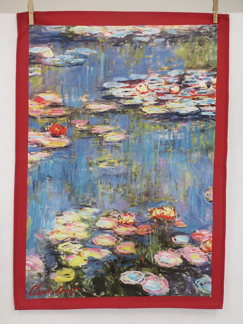 Dish Towel - Monet Exclusive / Water Lily