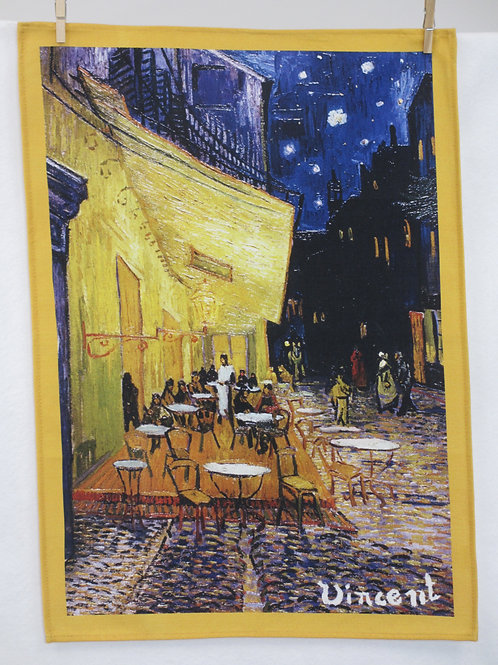 Dish Towel - Van Gogh Exclusive / Cafe