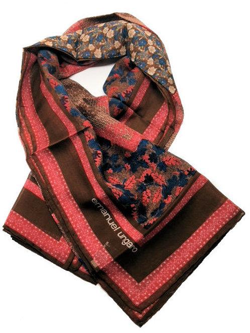 UNGARO made in Italy Silk Designer Scarf – 5015-4