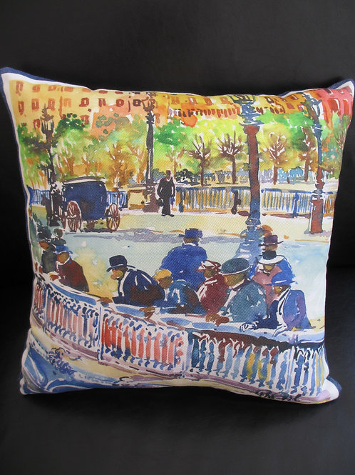 "Pillow ""Marseille Square"""