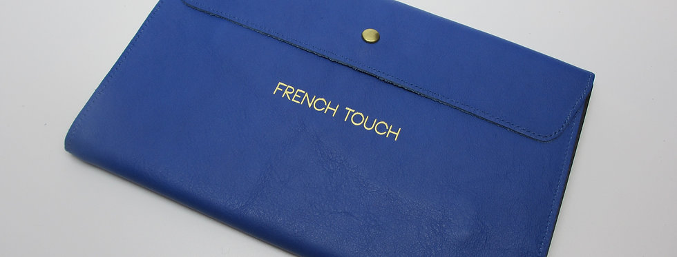 """the Parisian Organizer, FT Blue - """"FRENCH TOUCH"""" Collection"""