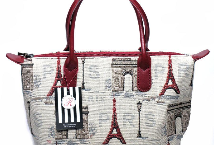 "Royal Tapisserie Hand Purse, ""Eiffel Tower"""