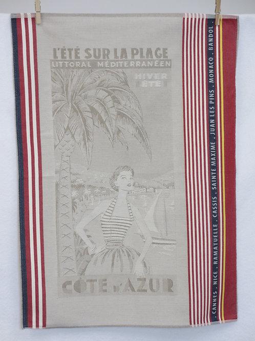 Dish Towel - Fifties / Cote d'Azur