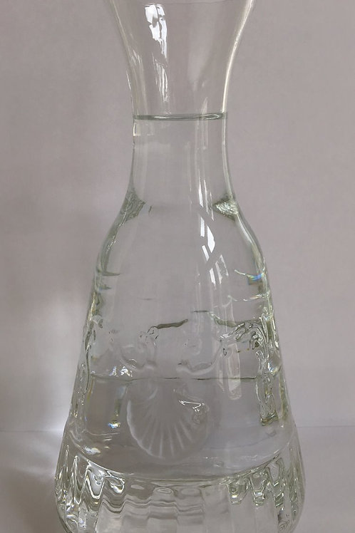 Versailles Clear Glass Carafe