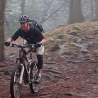 Mountan biker