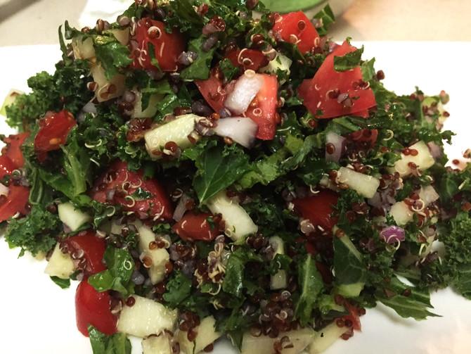 Quinoa & Kale Salad Recipe