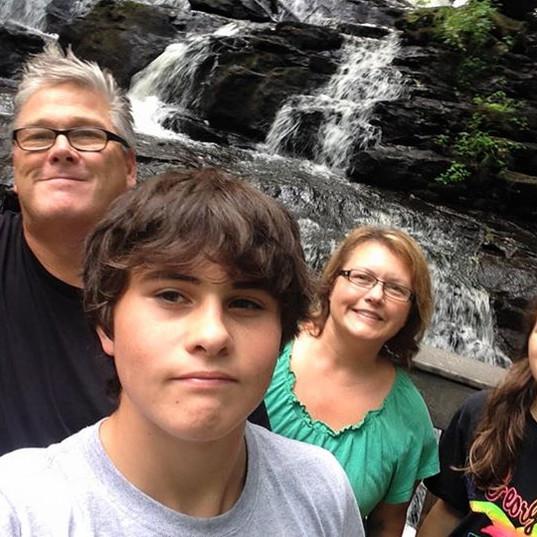 Bart's Family at Vogel