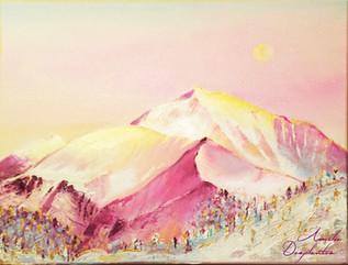 Neige d'Or - Le Mont Blanc