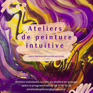 Atelier de peinture intuitive Avril2