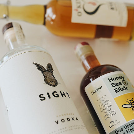 sight vodka honey bee elixir o'kenny rye o'kenny vodka contract distilling copacking ontario