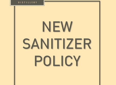 Hand Sanitizer Policies