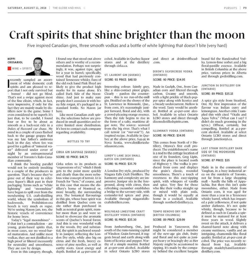 Last Straw Globe and Mail Review