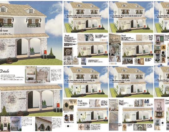 House's exterior design Ideas