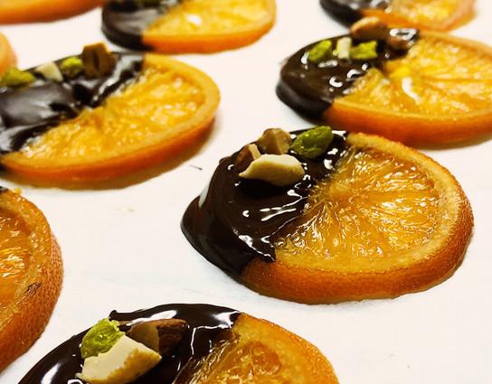 Organic orangettes