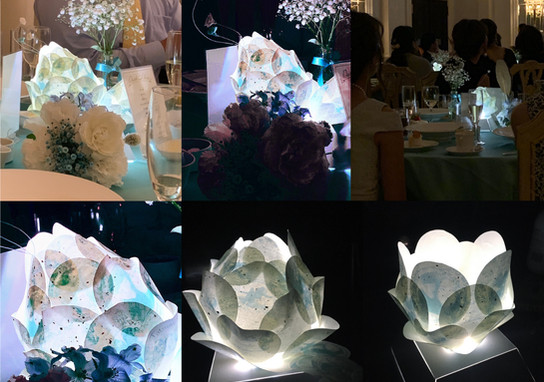 Wedding lights design