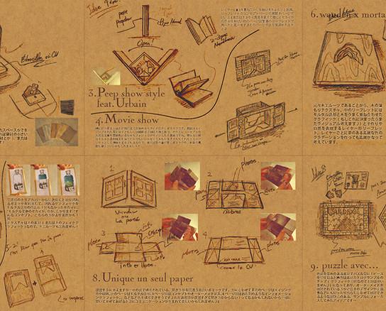 gimmicks leaflet design Ideas