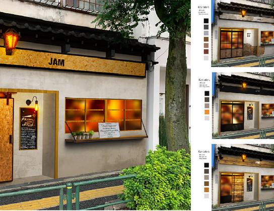Restaurant's exterior design Ideas : JAM