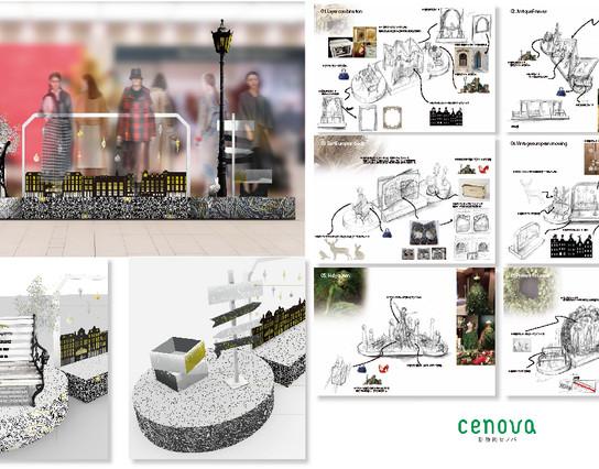 fashion Item's Booth design