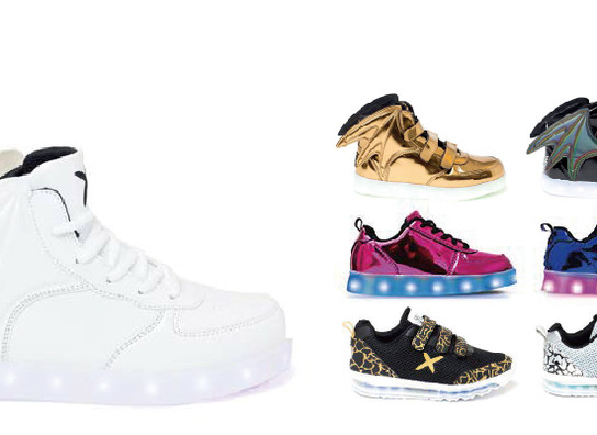 Kids shoes design