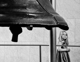 Young Girl at the Liberty Bell