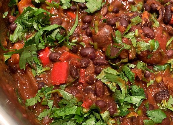Black Bean Chipotle Chilli