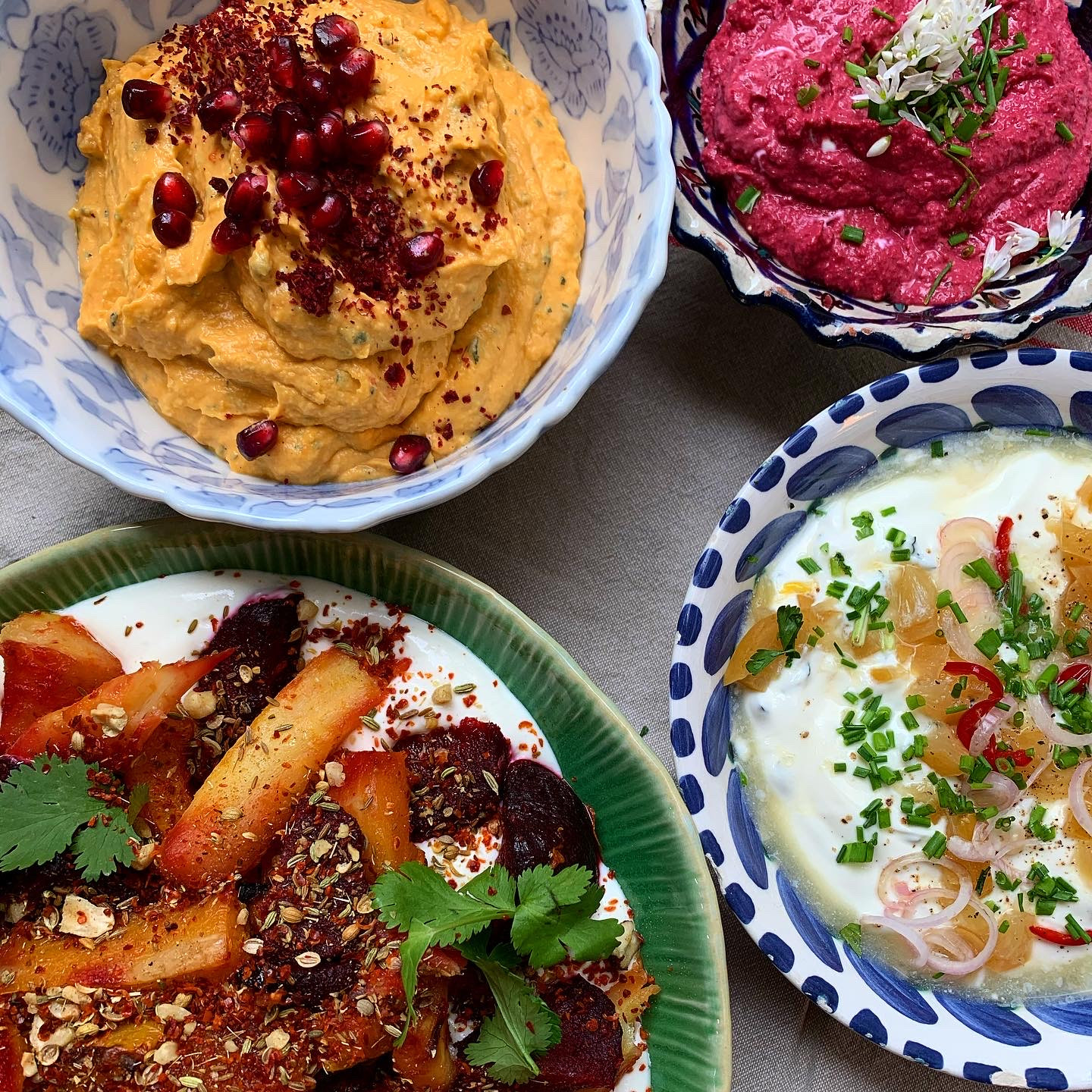 Middle Eastern Mezze Workshop- 26th May