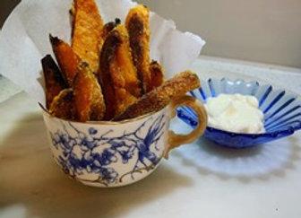 Sweet Potato & Polenta Fries