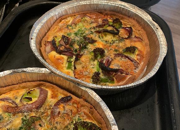 Asparagus & Goats Cheese Tart