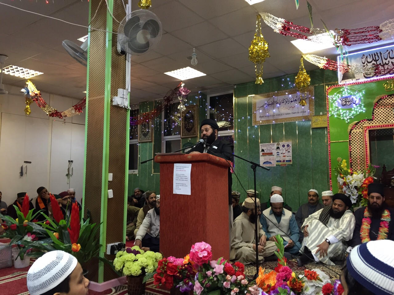 Picasa - Milaad Sultan Bahu Centre Manchester 2015 - 8